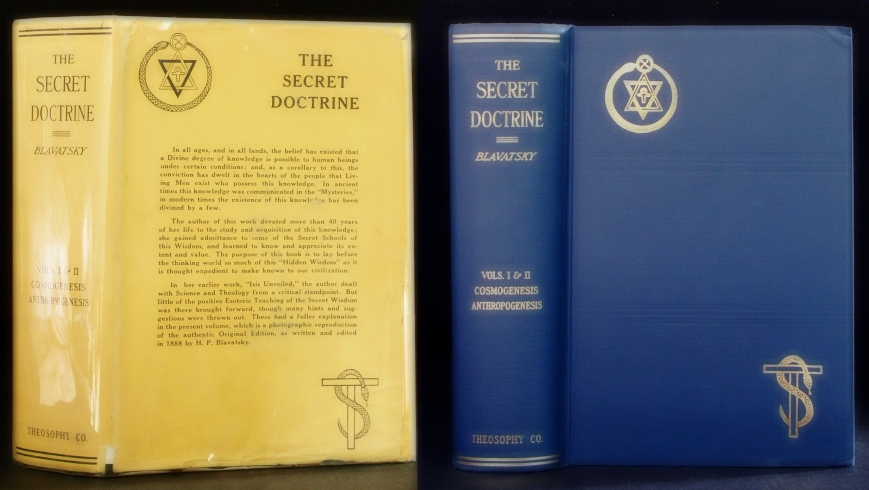 """The Secret Doctrine"" by H.P. Blavatsky"