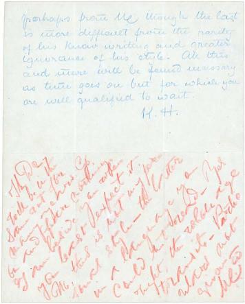 Mahatma Letter - Koot Hoomi - Secret Doctrine