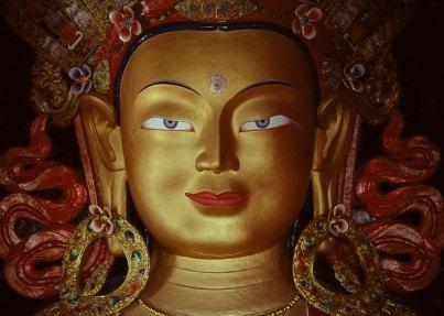 Statue of Maitreya Buddha