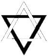Double Triangle Symbol