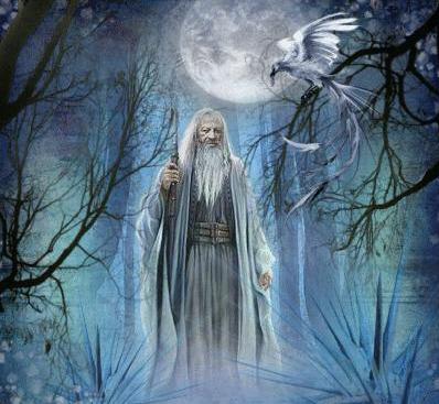 Artwork of a Druid