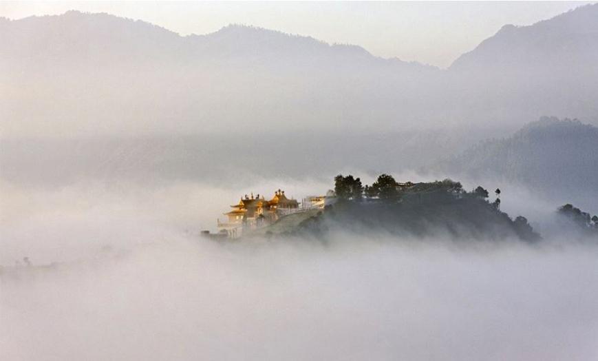 A Trans-Himalayan Buddhist Monastery
