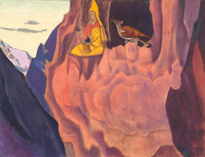 """Tidings of the Eagle""by Nicholas Roerich"