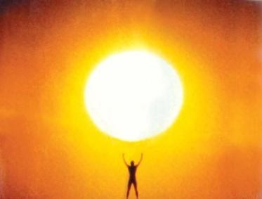 Man and the Sun