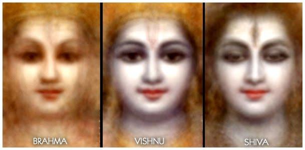 Brahma, Vishnu, Shiva, Trimurti