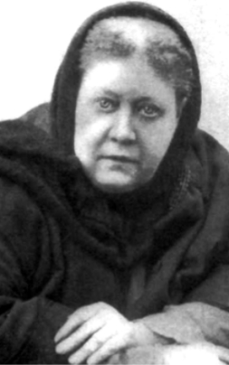 H.P. Blavatsky in London