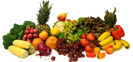 Bright Vegetables and Fruit