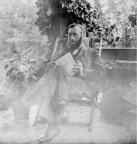 A little known photo of William Judge, co-founder with H.P. Blavatsky of the modern Theosophical Movement.