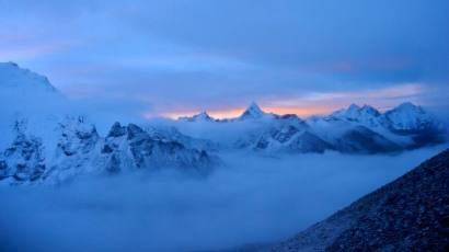 Sunrise at Mount Everest