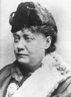 H.P. Blavatsky in 1878.