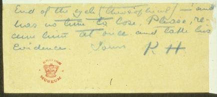 Mahatma Letter from Master Kuthumi