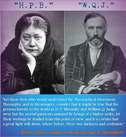 Madame Blavatsky and W.Q. Judge