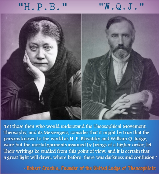 Madame Blavatsky and W.Q. Judge