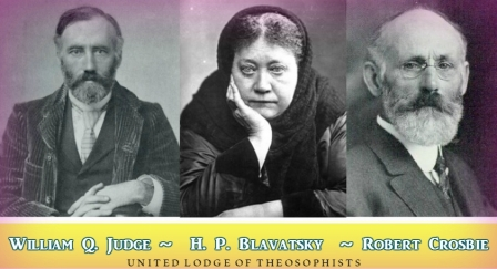 """""""To spread broadcast the teachings of Theosophy as recorded in the writings of H.P. Blavatsky and William Q. Judge"""""""