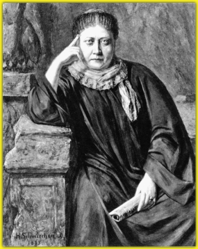 """Believe me, the law of retribution (Karma) would very soon overtake one who so broke his pledge, and perhaps as soon as the contempt of every honourable man would, even on this physical plane."" - H.P. Blavatsky, ""The Key to Theosophy"" p. 51"