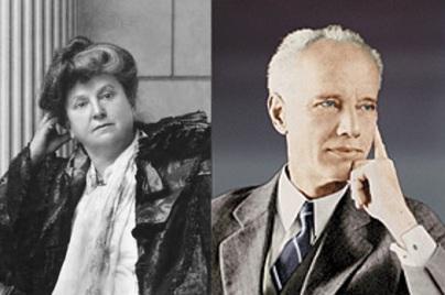 Katherine Tingley and G. de Purucker.